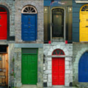 Irish Doors Art Print