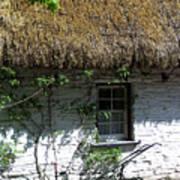 Irish Farm Cottage Window County Cork Ireland Art Print