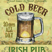 Irish Pub Art Print