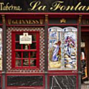 Irish Pub In Spain Art Print