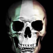 Irish Skull Art Print