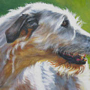 Irish Wolfhound Beauty Art Print