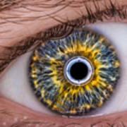 iRobot Eye v2.o Art Print