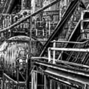 Iron Age - Bethelehem Steel Mill Art Print