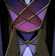 Iron Butterfy 2 Art Print