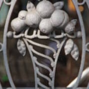 Iron Fruit Art Print