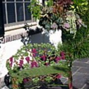 Iron Garden Bench Art Print