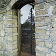 Iron Gate To The Garden Art Print