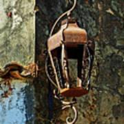Iron Lamp 7868 Art Print