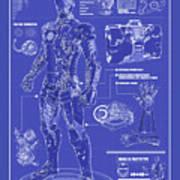 Ironman Patent Art Print