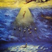 Iroquois Creation Myth Art Print