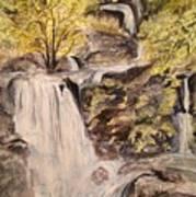 Iruppu Falls  Art Print