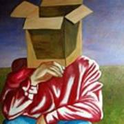Is The Self Just An Empty Box Art Print