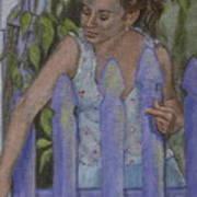 Isabel At The Gate Art Print