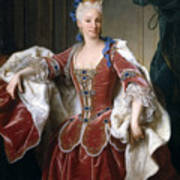 Isabella Farnese. Queen Of Spain Art Print