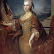 Isabella Louise Of Orleans. Queen Of Spain Art Print