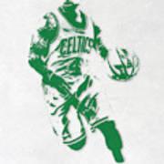 Isaiah Thomas Boston Celtics Pixel Art 2 Art Print