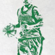 Isaiah Thomas Boston Celtics Pixel Art Art Print
