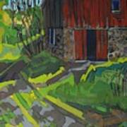 Isaiah Tubbs Barn Art Print