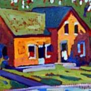 Isaiah Tubbs Neighbour Art Print