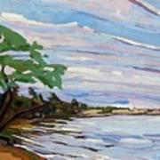 Isaiah's Beach Art Print