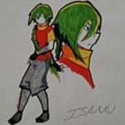 Isamu Art Print