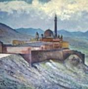Ishak Pasa Palace Dogubayarzit Anatolia Turkey 2006  Art Print