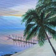 Isla Morada Sunset Art Print