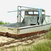 Island Boat Art Print
