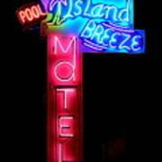 Island Breeze Motel Art Print