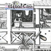 Island Cafe Art Print