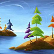 Island Carnival Art Print