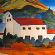 Island Church Art Print