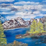 Island Cove Art Print