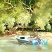 Island Ferry Art Print