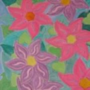 Island Flowers Art Print