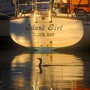 Island Girl Art Print