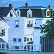 Island Heights Back Yards Art Print