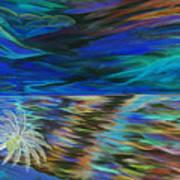 Island High Inverted Colours Art Print