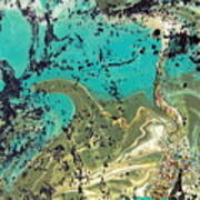 Island Lagoon Art Print