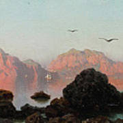 Island Of Capri Art Print