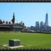 Island Park Elise Museaum Of American Immigration Journey Trip To Newyork Travel Zone America Photog Art Print