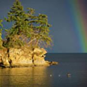 Island Rainbow Art Print