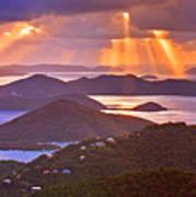 Island Rays Art Print