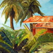 Island Sugar Shack Art Print