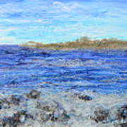 Islands And Surf Art Print