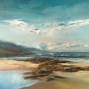 Islay Beach Art Print