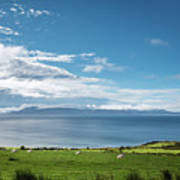 Isle Of Arran Under Cloud Art Print