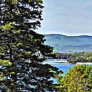 Islesboro View  Art Print