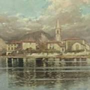 Isola Dei Pescatori Art Print